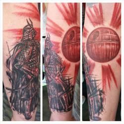 Samurai Vader by Doctah-Jones