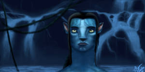Avatar Jake Sully Final by Indigenous-Graphics