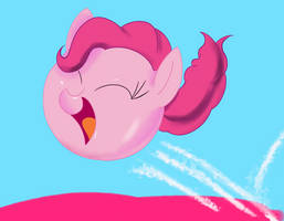 Commission: Pinkie Ball by AClockworkKitten