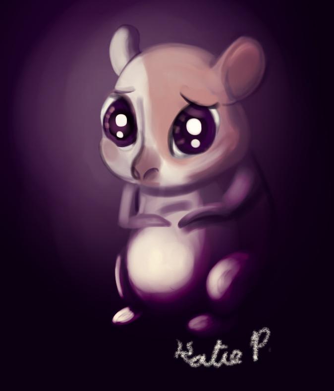 Feelings Hamster by AClockworkKitten