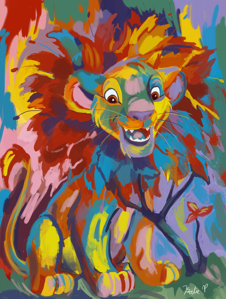 Simba Coloring Page by AClockworkKitten on DeviantArt