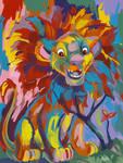 Simba Coloring Page