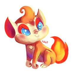 Chimchar by AClockworkKitten