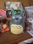 Totoro surrounded by other stuff I made by AClockworkKitten