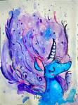 Purple Mane by AClockworkKitten