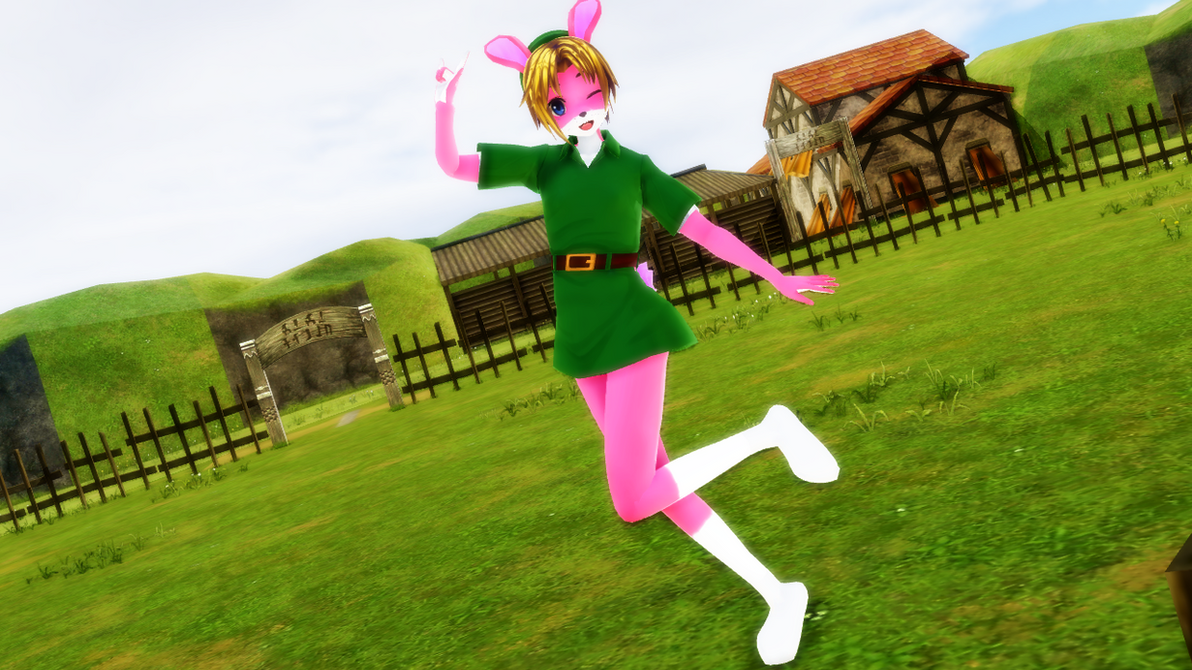 Bunny Boy Link  by Nanashione