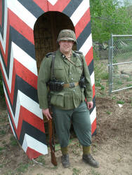 WWII Reenactment Guard by Johnithan