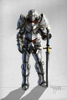 Armored warrior color by Anakronox