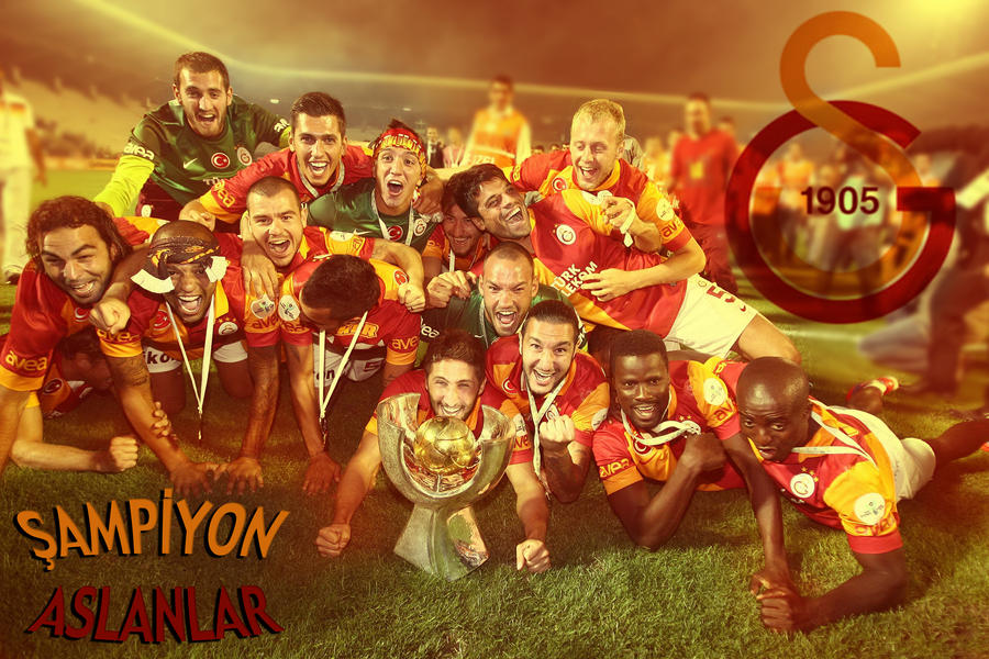 SUPER KUPA SAMPIYONU GALATASARAY by asumandogan