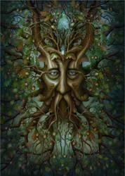 Nine sacred woods/Kingly Oak by jeshannon