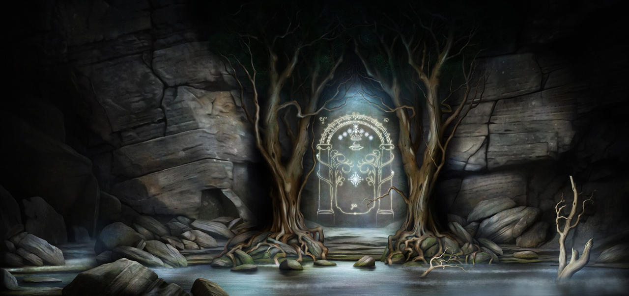 The Doors of Moria by jeshannon ... & The Doors of Moria by jeshannon on DeviantArt