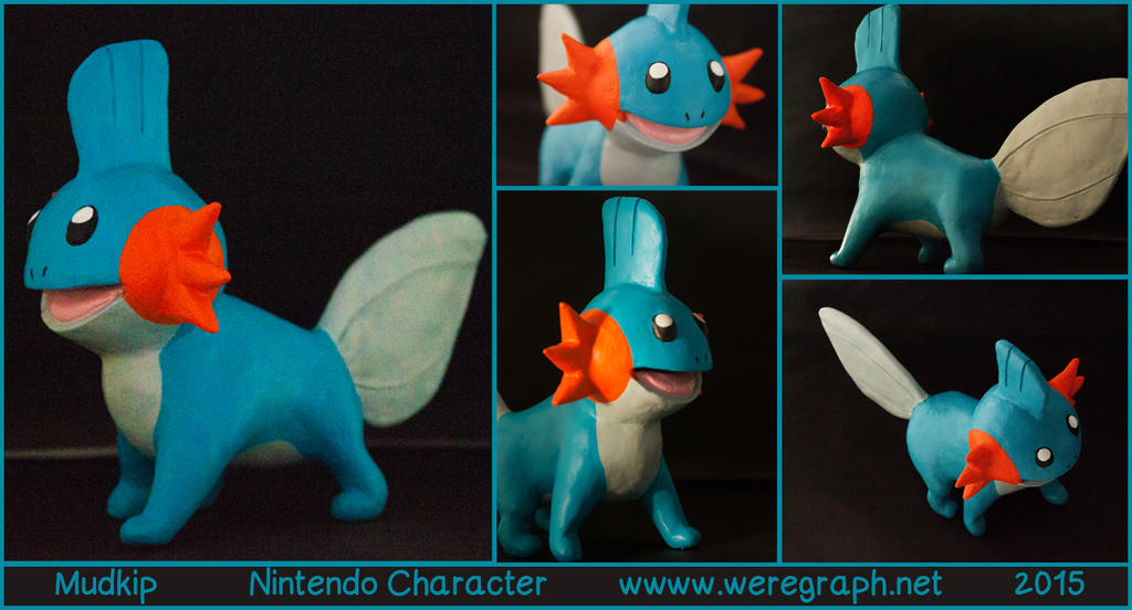 [for sale] Mudkip by Nikithewerewolf