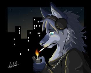 [YCH] Smoke by Nikithewerewolf