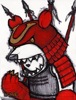 Knuckle Bear Samurai Armor