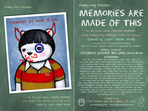 Memories Are Made Of This - Postcard
