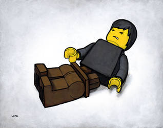 Lego Series - My Legs!