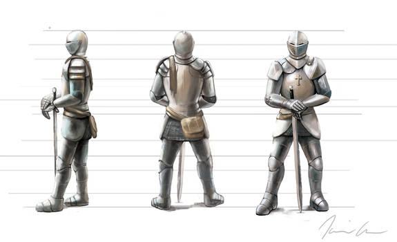 Renaissance Swordsman Concept