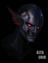 Unskinned Chharia Concept by AltaGrin