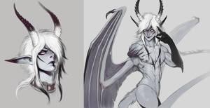 AU Demon Craven Stuff