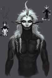 Unicorn boi sketch by AltaGrin