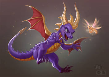 Spyro by AltaGrin