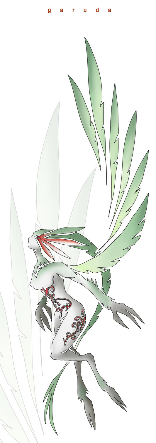 Garuda - windborne by Zealet