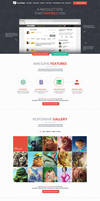FlatWeb - One Page Multipurpose Business Template