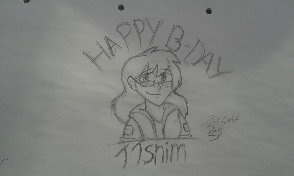 Happy B-day TTsnim by jak1skjelvik