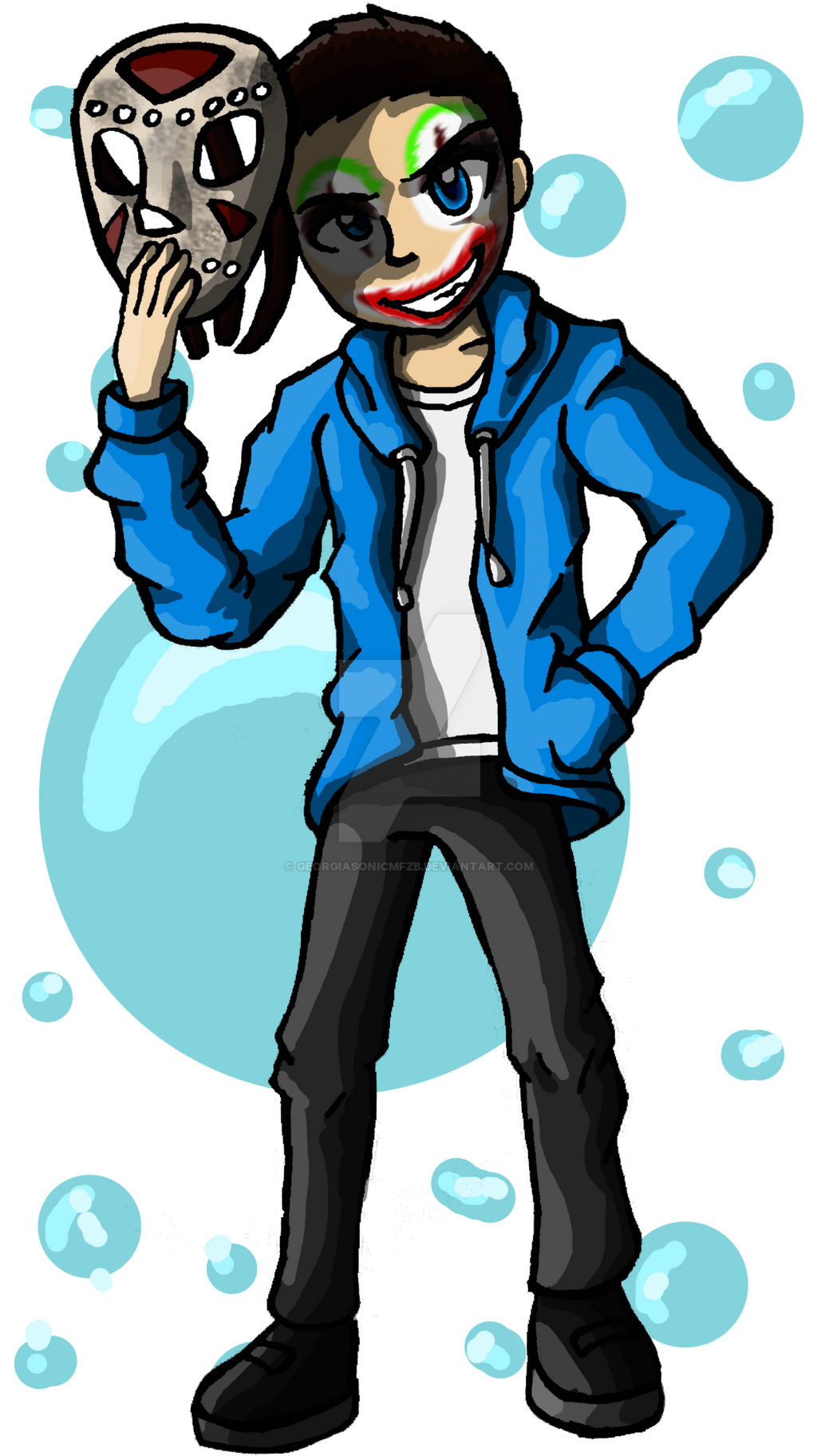 H2O Delirious by GeorgiaSonicMFZB on DeviantArt H20 Delirious Fan Art