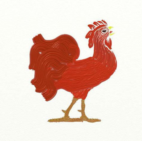 Rooster by nizo