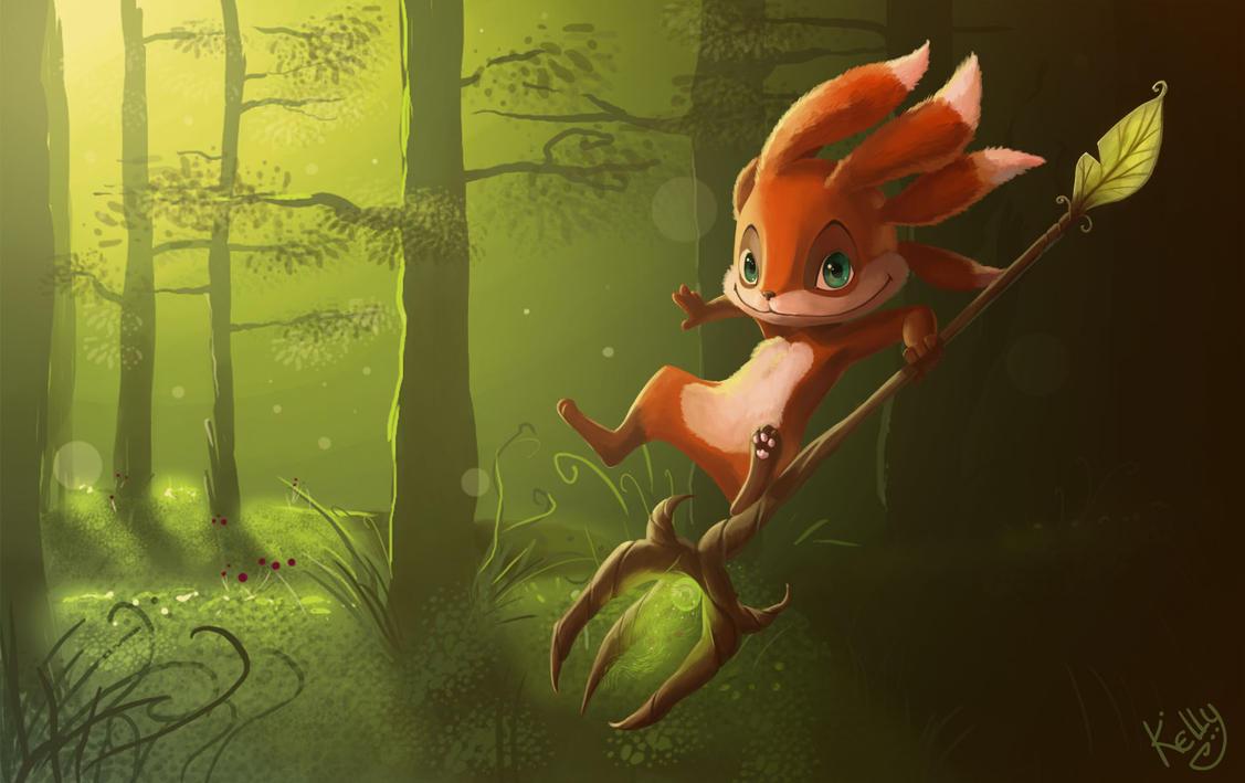 Fizz - The fox by Kellykatz