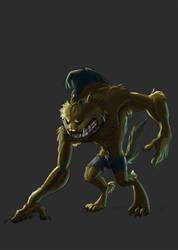 Drawlloween - Day5 Werewolf