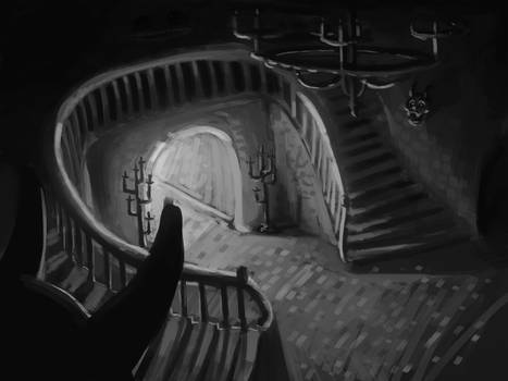 You are welcome -Drawlloween - Day 7 Haunted House