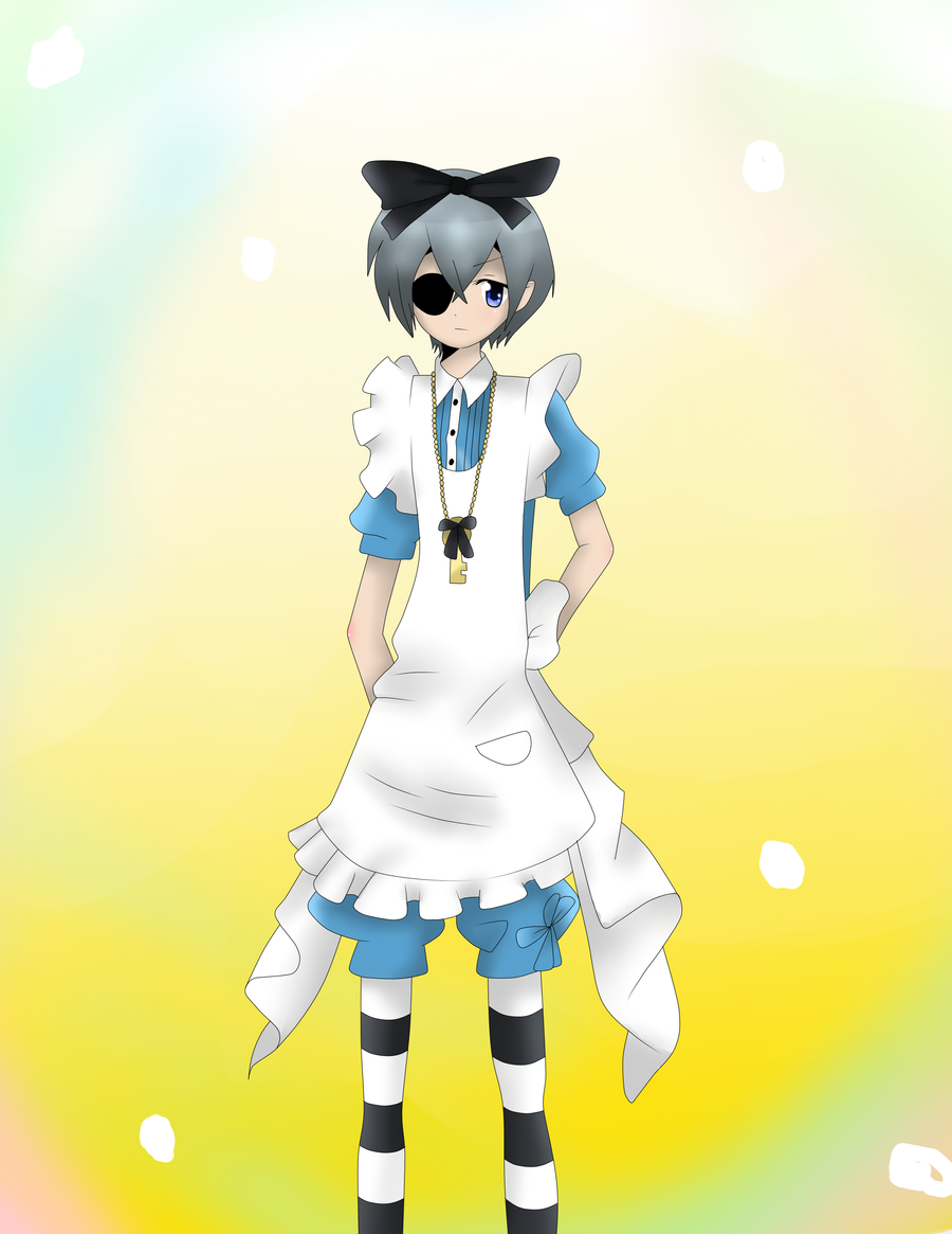 Ciel in Wonderland by Suki-ki