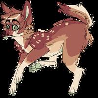 Red coyote ota by snowku