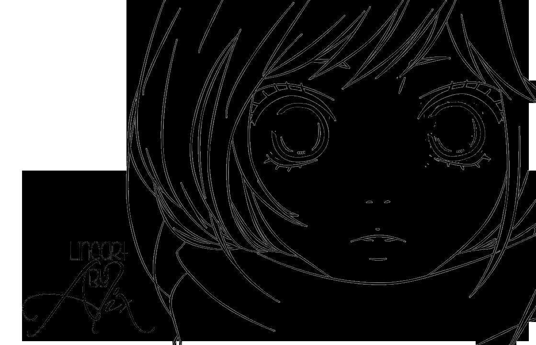 Line Art Manga : Futaba yoshioka lineart render by alix d yvlr