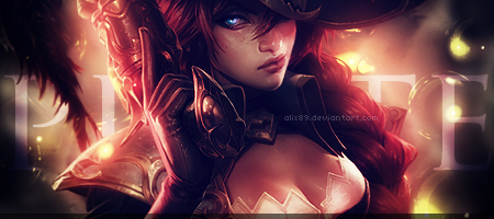 Signature Miss Fortune by Alix89