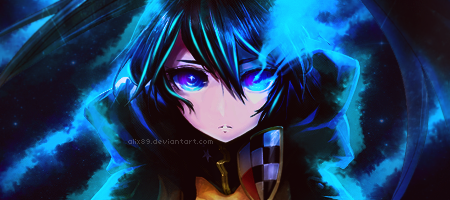 Signature Black Rock Shooter by Alix89