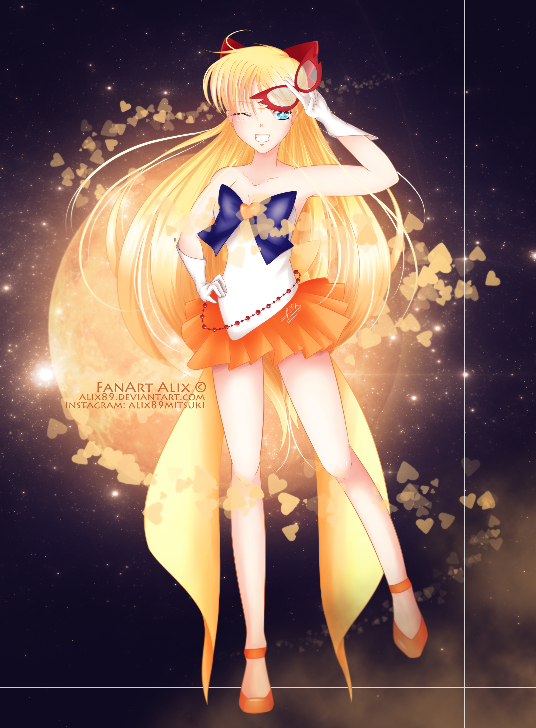 Sailor Venus [FanArt] by Alix89