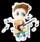 [Commission] Chibi Guitar