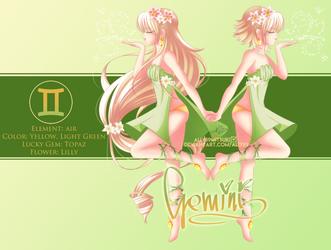 Gemini ~ Zodiac [OC] by Alix89
