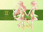 Gemini ~ Zodiac [OC]