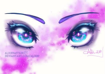 Galaxy Eyes by Alix89