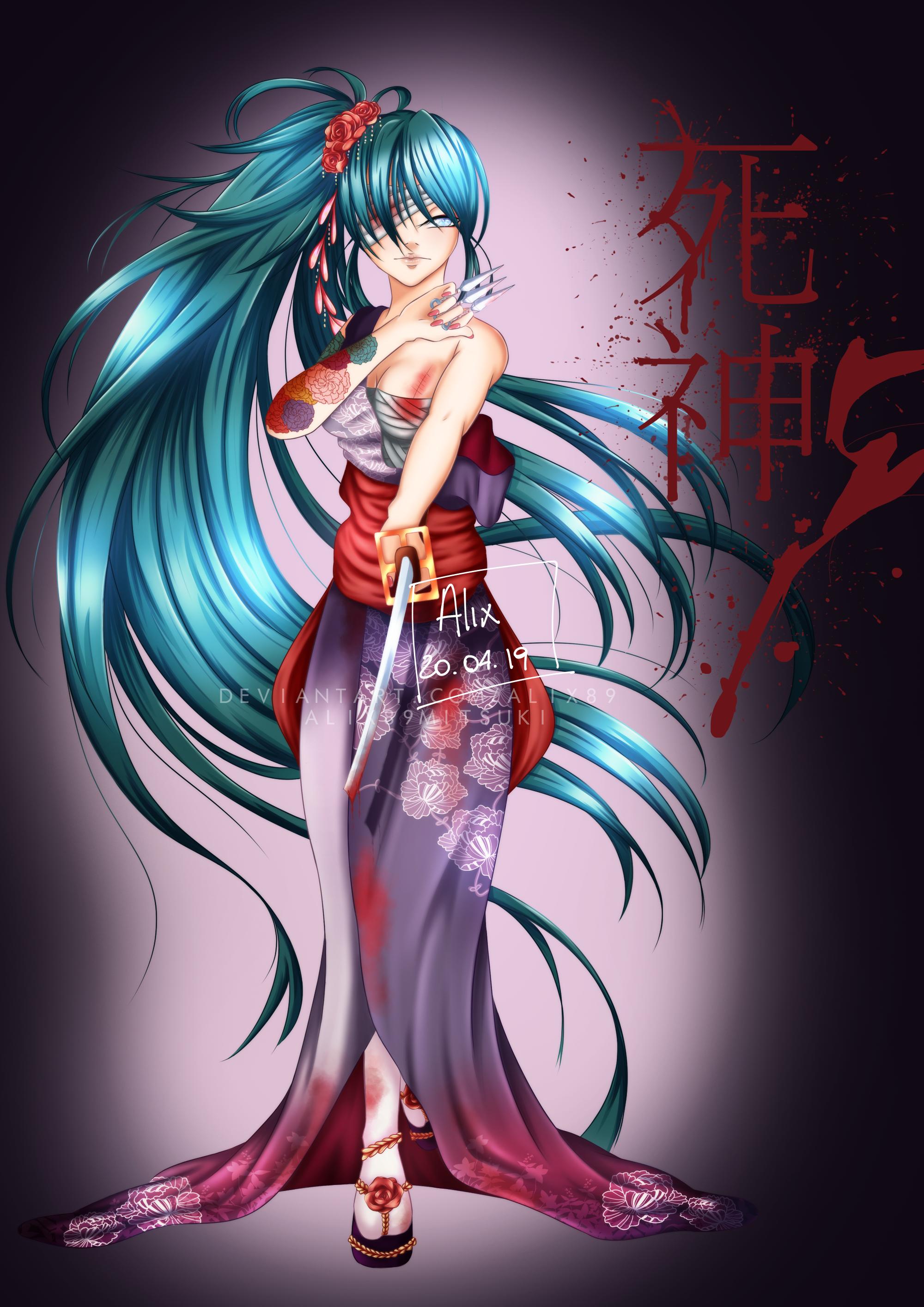 Shinigami girl [OC]