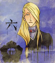Portrait of Aki Morinaga by Samletbird