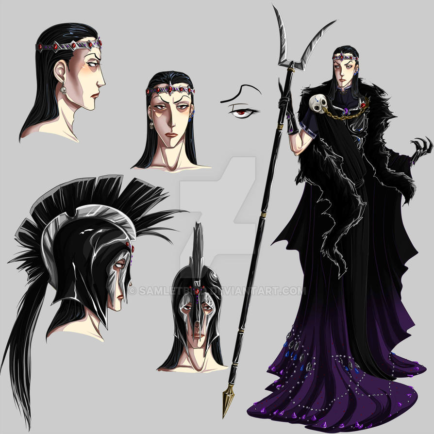 Hades Concept by Samletbird