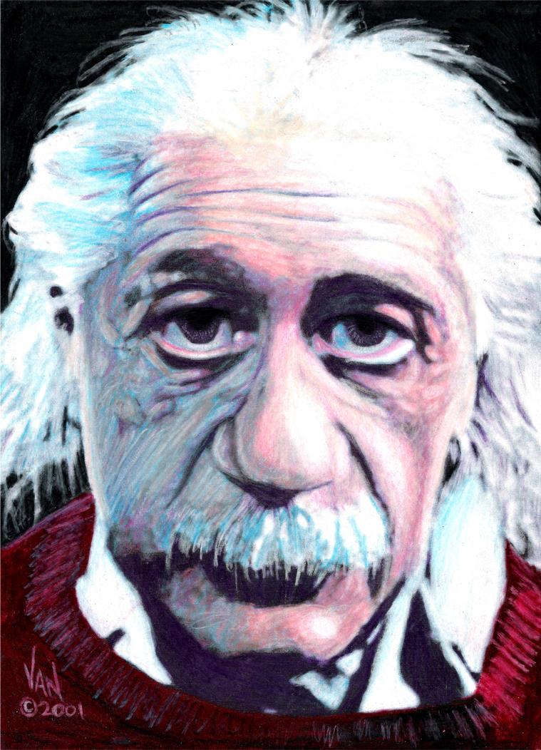 Albert Einstein by VanBonds