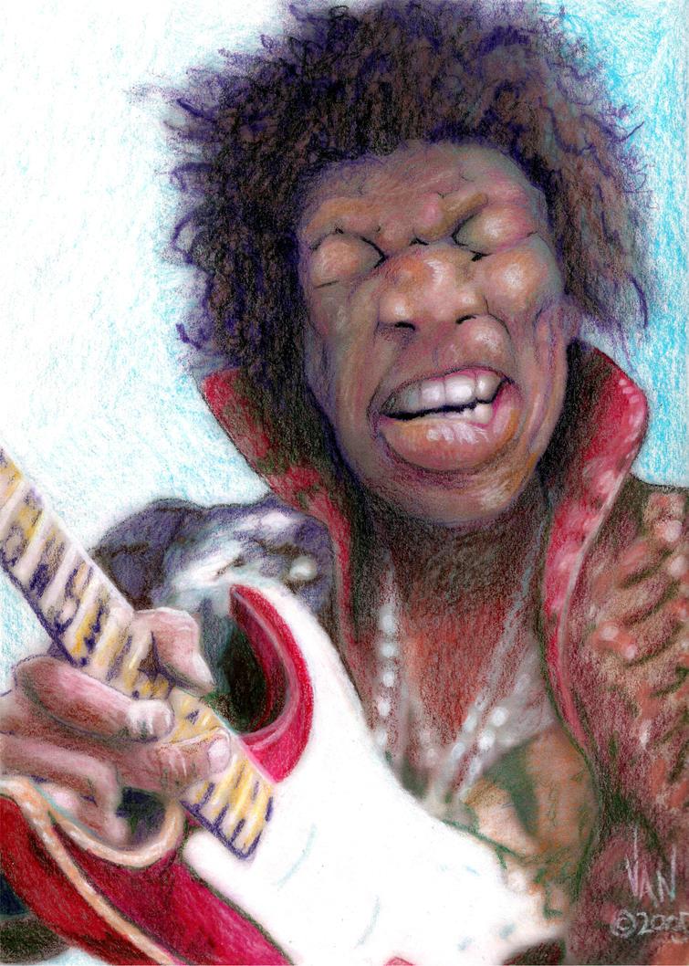 Jimmy Hendrix by VanBonds