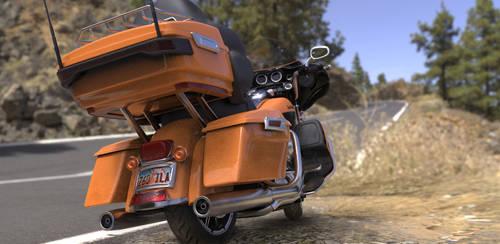 Render MotorBike BeautyShot 3 by KoolBluSky