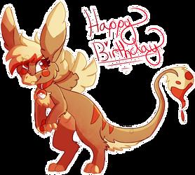 {Gift} Happy Birthday Crunchy!